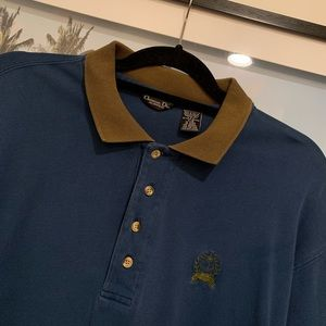 Vintage 90s Christian Dior rugby polo